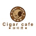 Cigar cafeロゴ作成実績